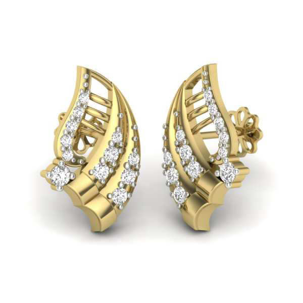 Fly Beyond Diamond Earring