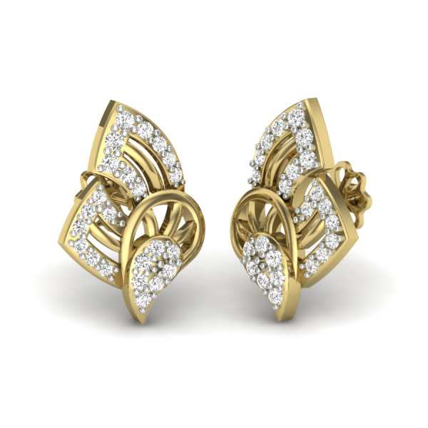 Butterfly Dew Drops Earring