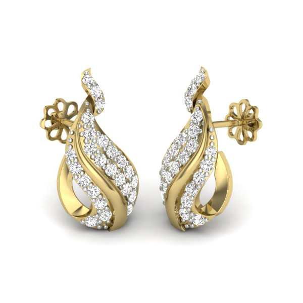 Glistening Dew Drop Earring
