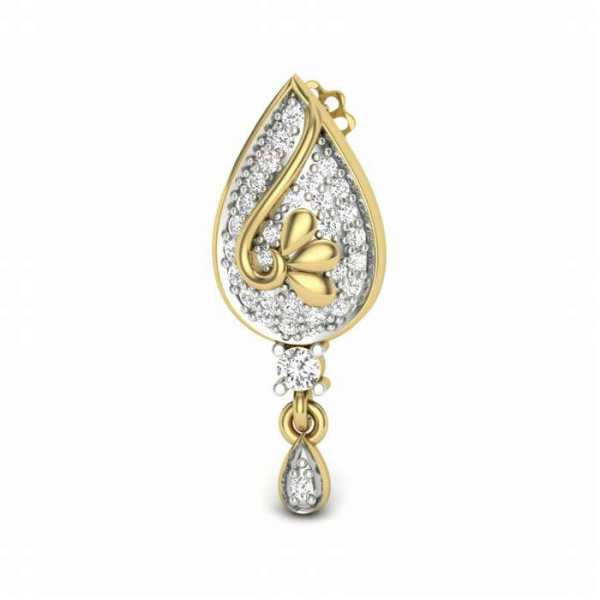 Latkan Type Diamond Earring