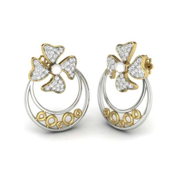 Loving Herself Diamond Earring