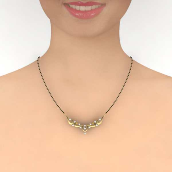 Sweetheart Diamond Mangalsutra