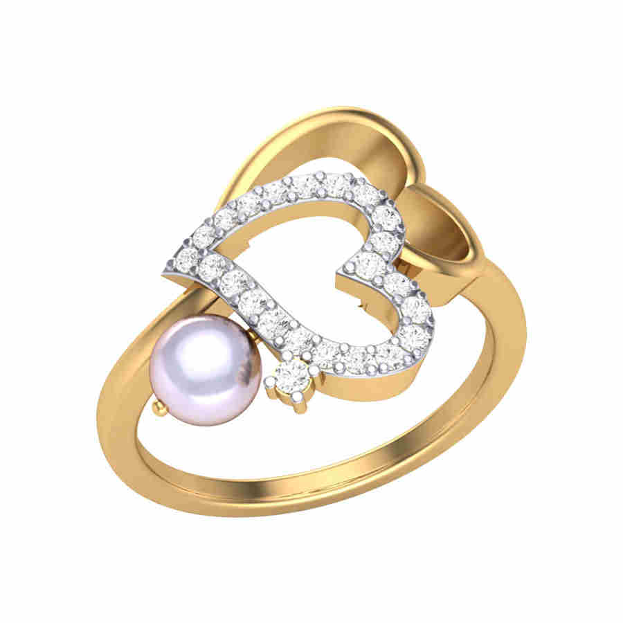 Love of Pearl Diamond Ring