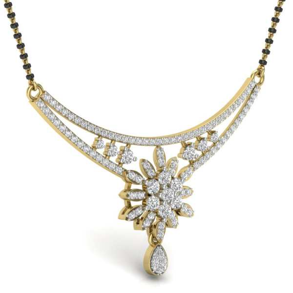 Blooming Floral Mangalsutra