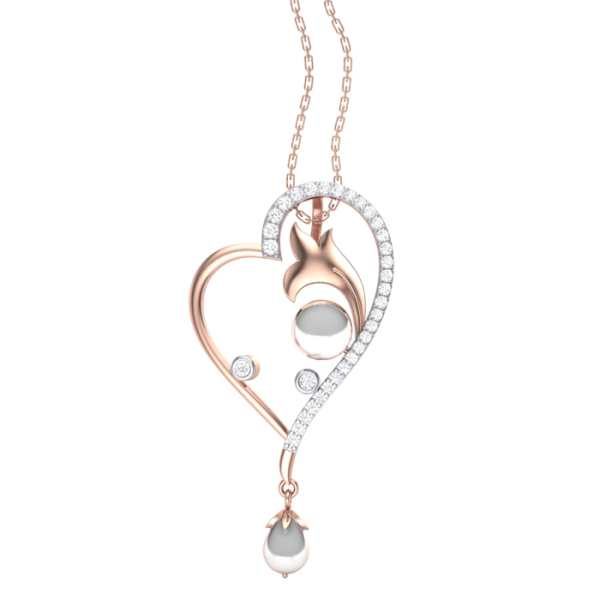 Hearts Desire Diamond Pendant
