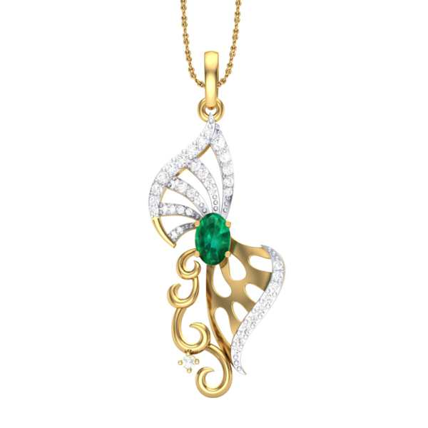Trinfinity Diamond Pendant
