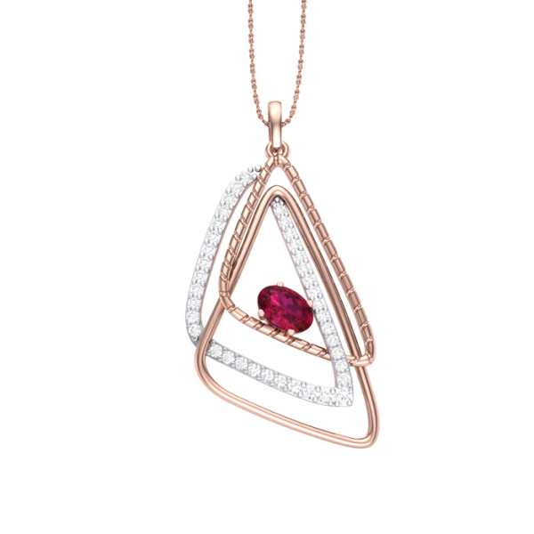 30 And beyond Diamond Pendant