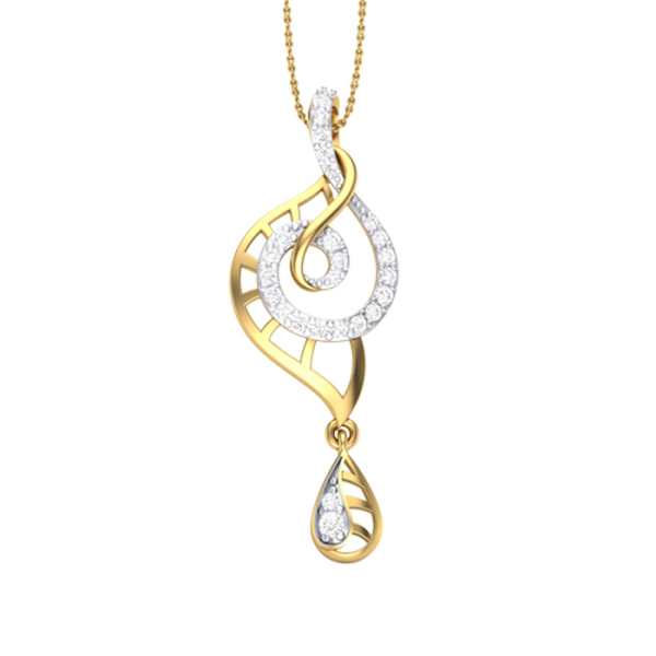 Sunshine Dew Diamond Pendant