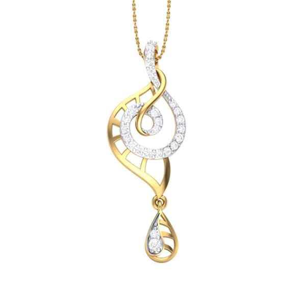Sunshine Dew Diamond Pendant