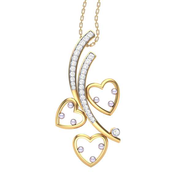 Tree of Love Diamond Pendant