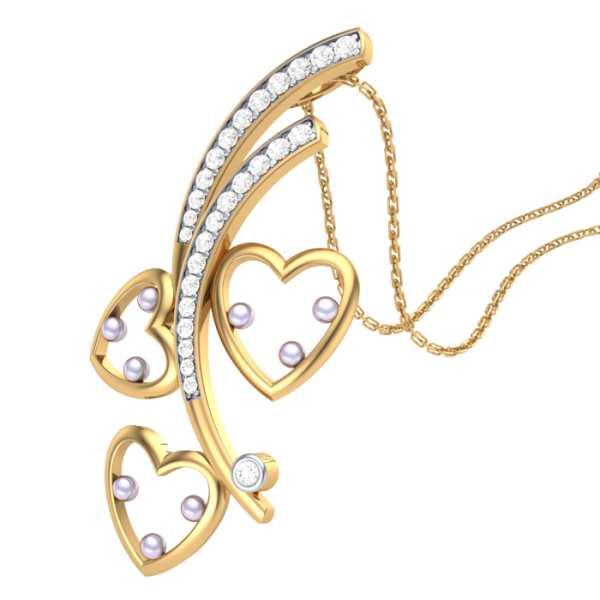 Tree of Love Diamond Pendant