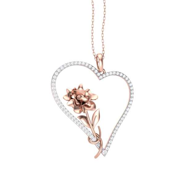 Heart n Soul Diamond Pendant