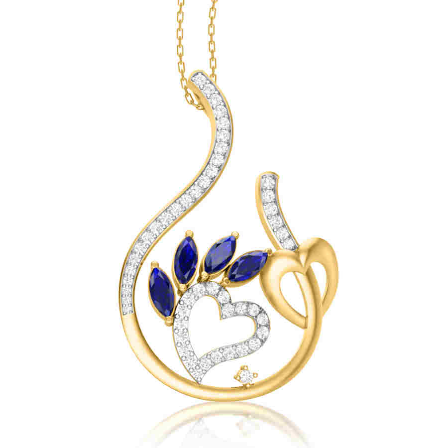 Beautiful Curvy Pendant