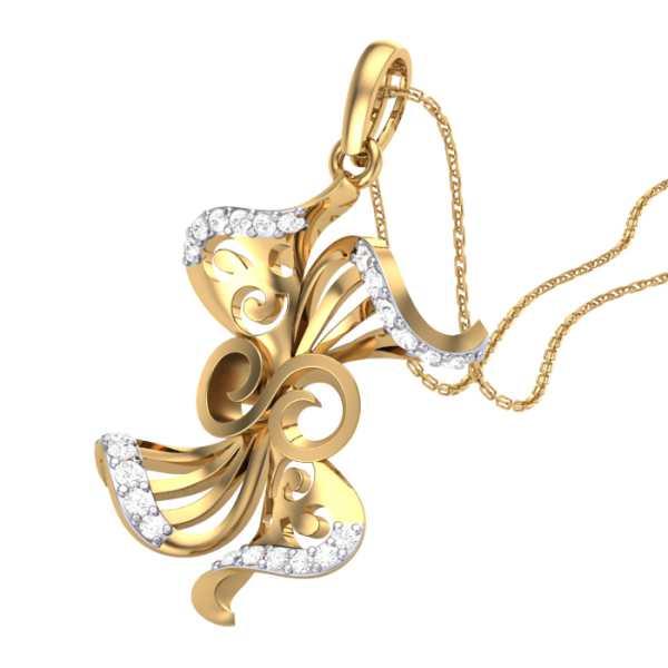 Twisted Petals Pendant
