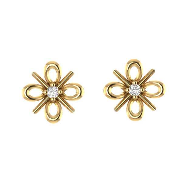 Twinkling Flore Earring