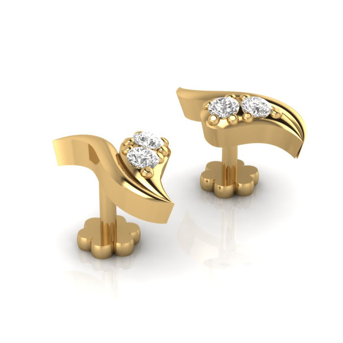 Simply Diamond Earring