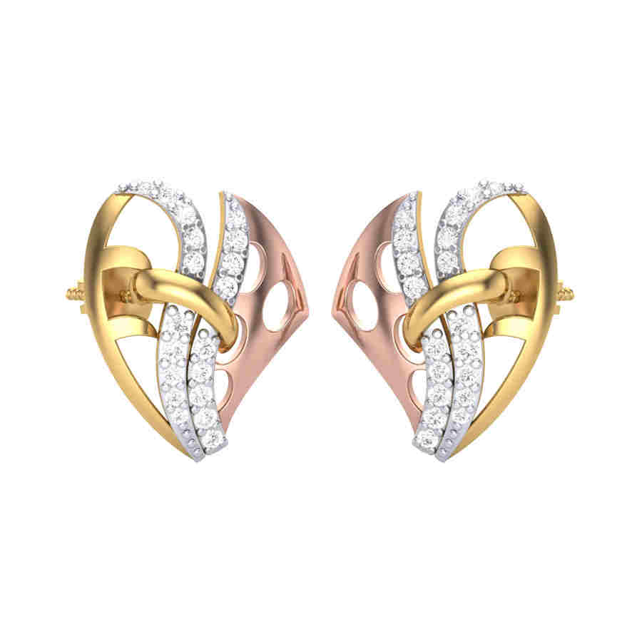 Duet Bonded Diamond Earring