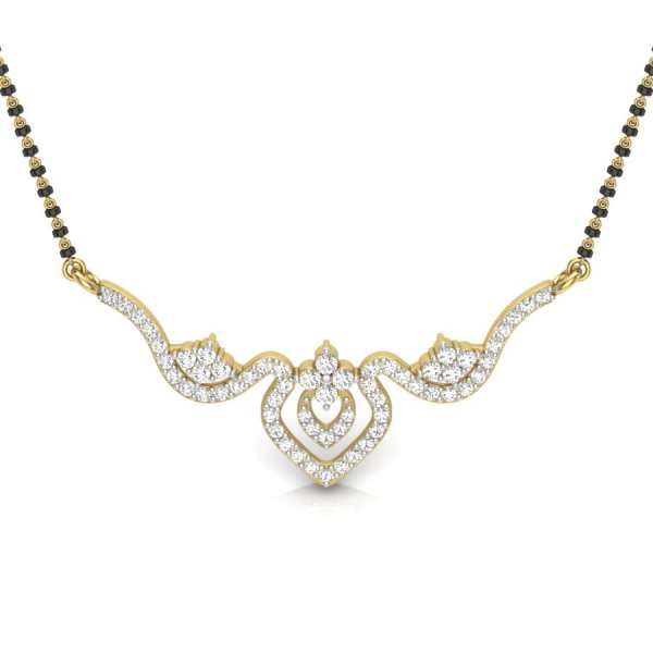 Twist N Gleam 24  Mangalsutra