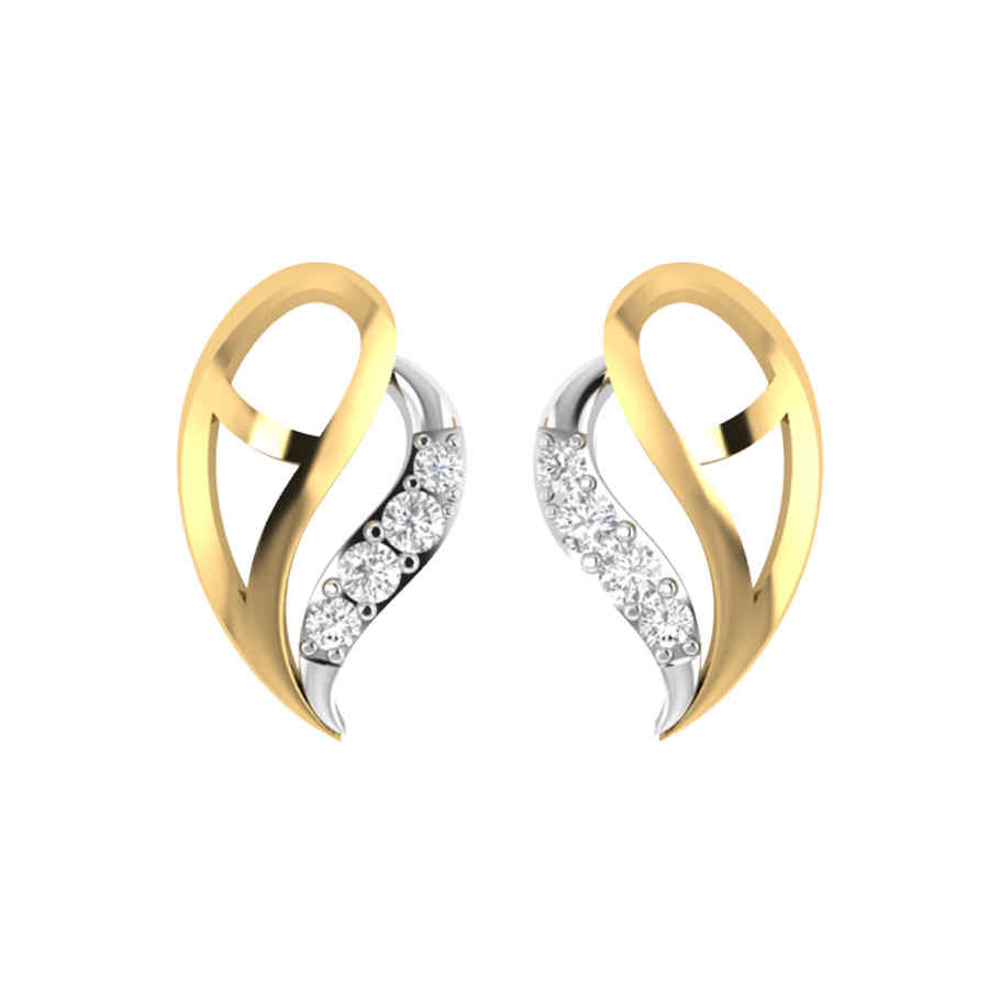 Elegant Diamond Earring
