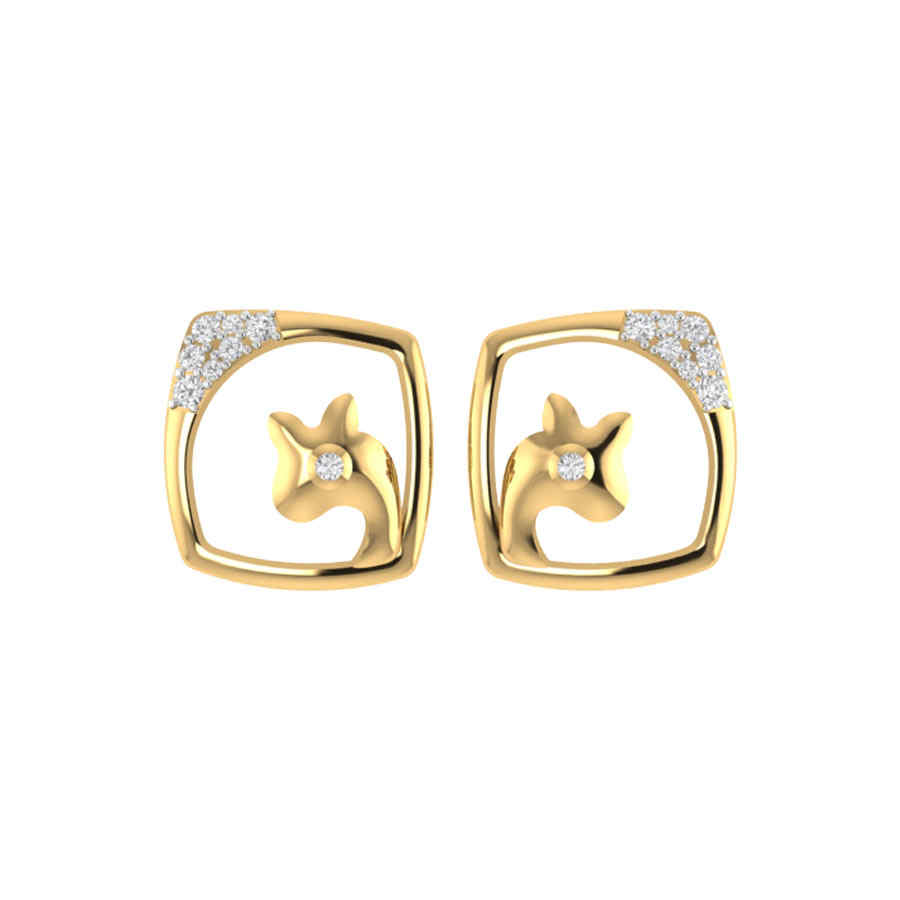 Stylish square Design Earring