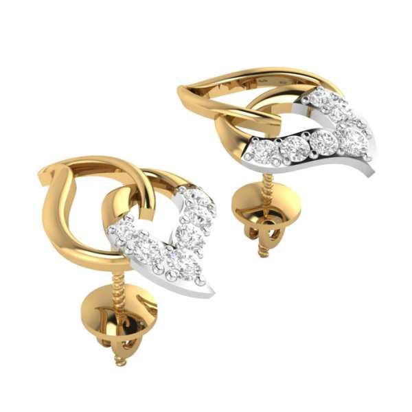 Divine Beauty Diamond Earring