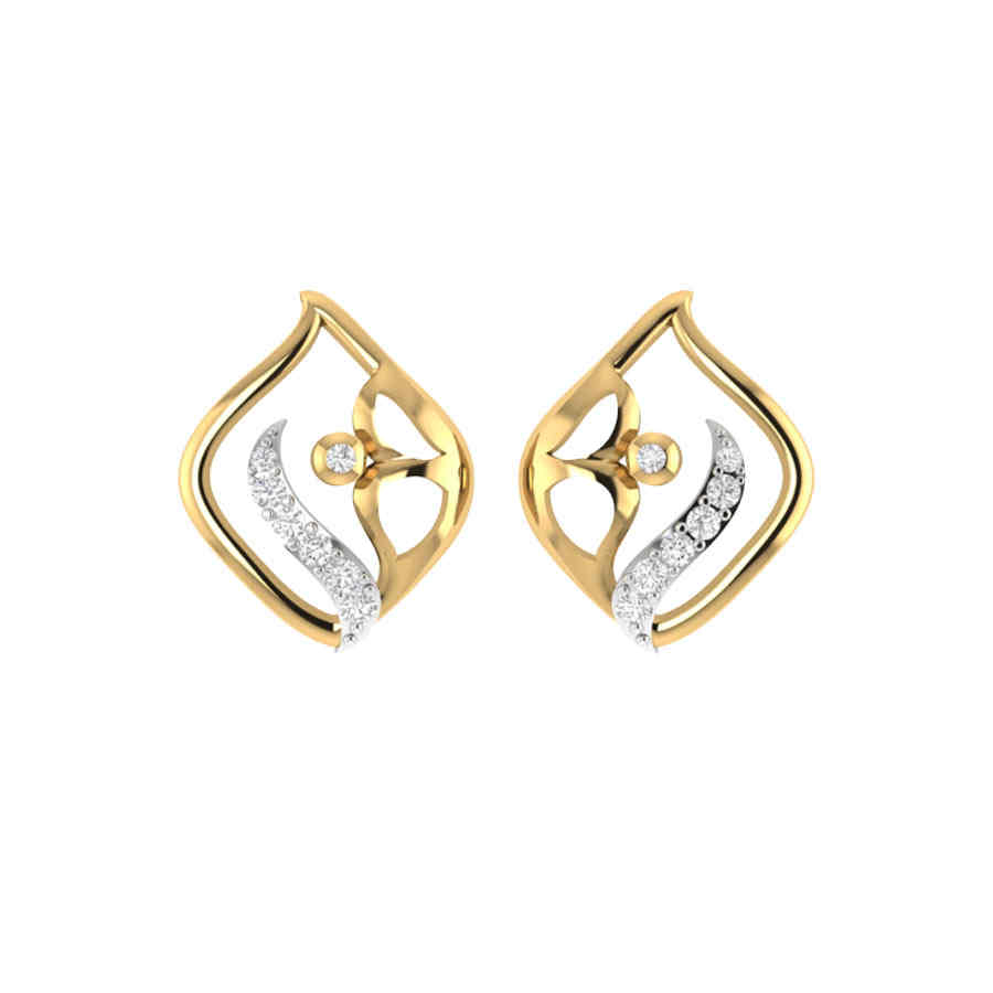 Classic Look Diamond Earring