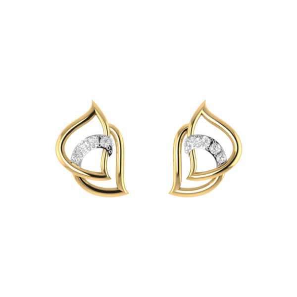 Turnit Around Diamond Earring