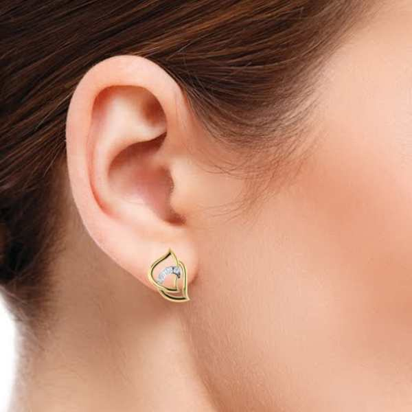 Turnit Around Diamond Earring