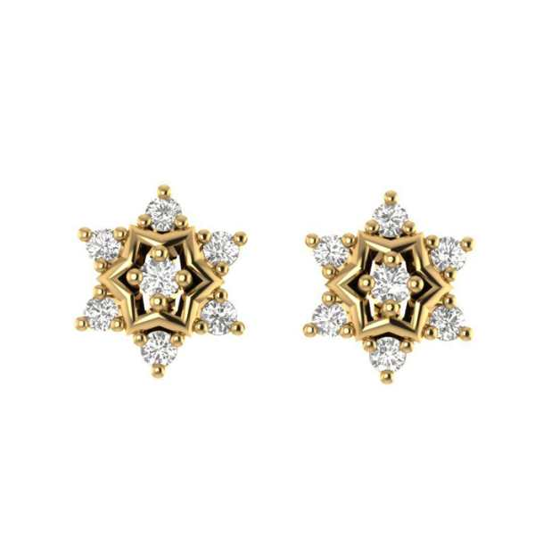 Starry Night Diamond Earring