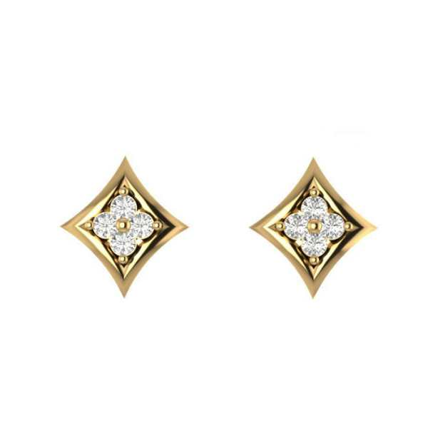 Stylish Rhombus Shape Earring