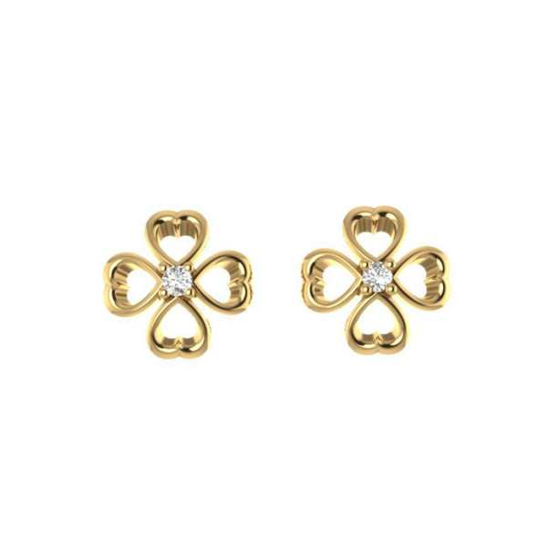 Four Heart Shape Earring
