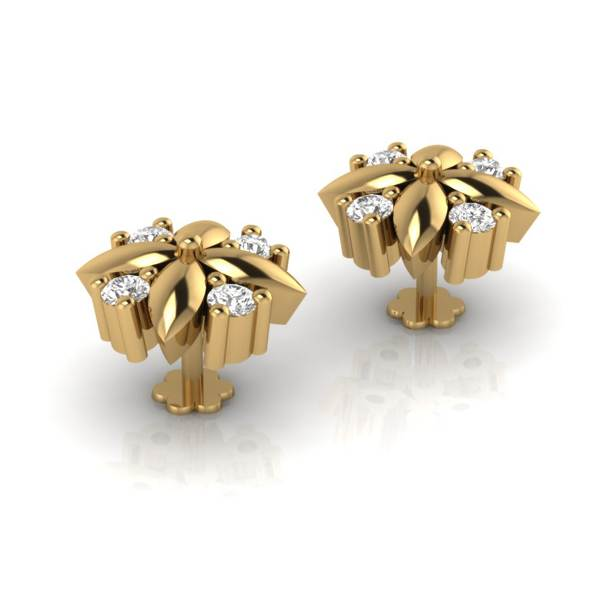 Small Diamond Studs Earring