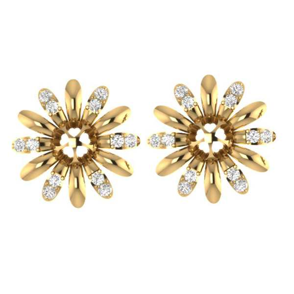 Shining Star Diamond Earring