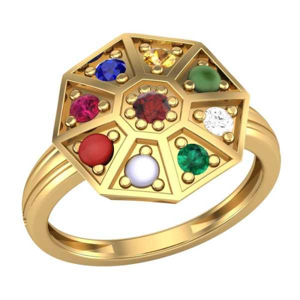 Blooming 9 Navratna Ring