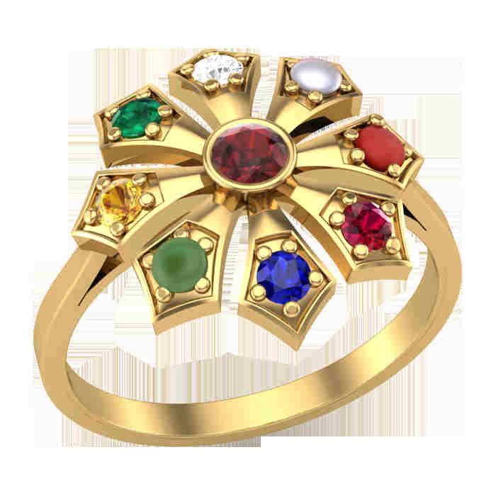 Nine Arrows Navratna Ring