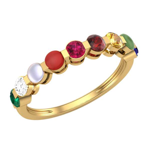 Eternity Nine Navratna Ring