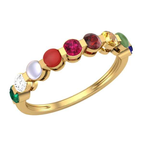 Eternity Nine Navratna Ring