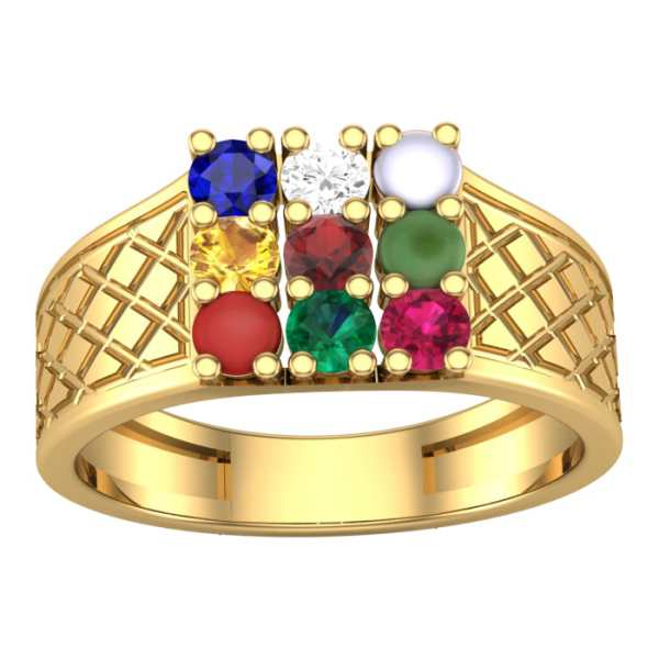 Alluring Meshed 9 Ring