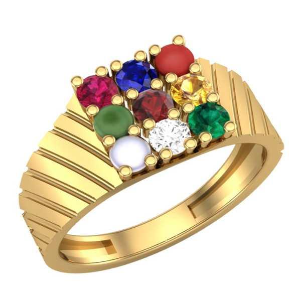 Charming 9 Navratna Ring