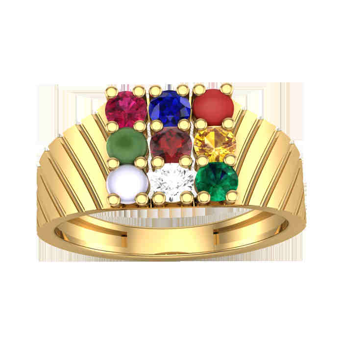 Charming 9 Navratna Ring