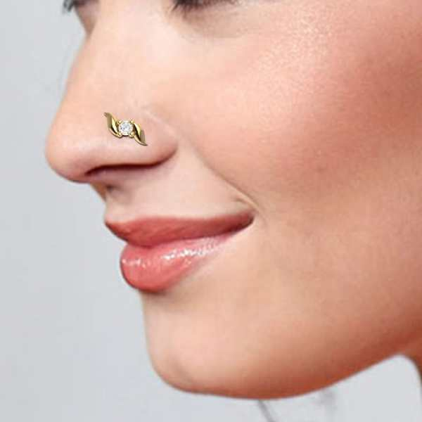Exotic Bow Diamond Nosepin