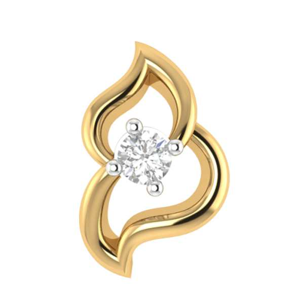 Elegant One Stone Nosepin