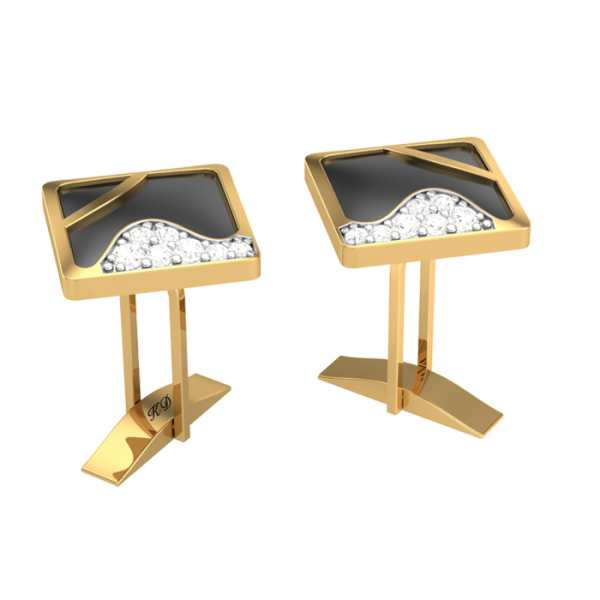 Enchanting Diamond Cufflink