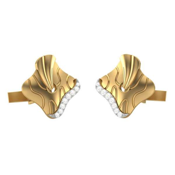 Diagonally Yours Cufflink