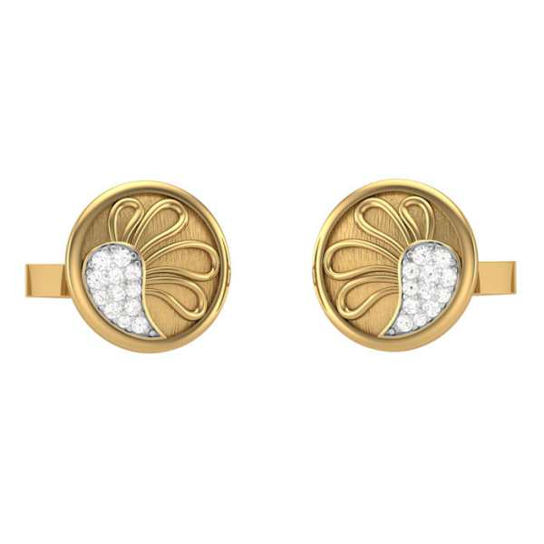 Striking Clover Cufflink