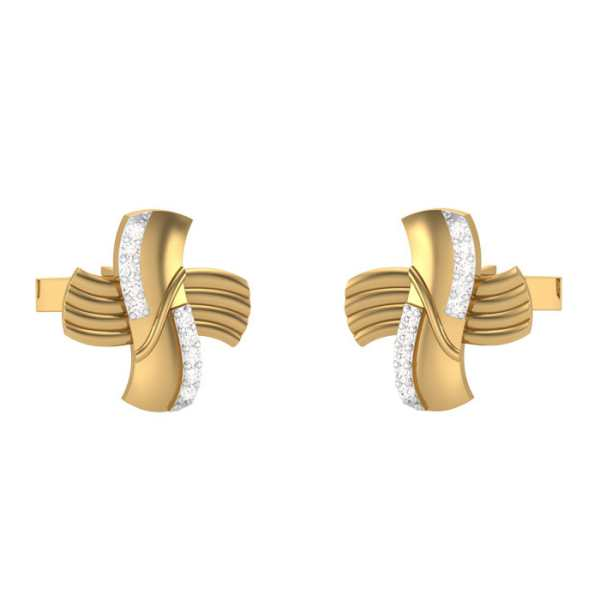 Lustrous Crossovers Cufflink