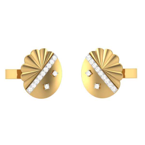 Love for Circle Cufflink