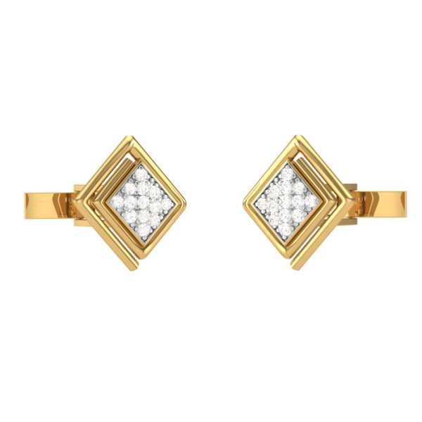 Forever 26 Diamond Cufflink