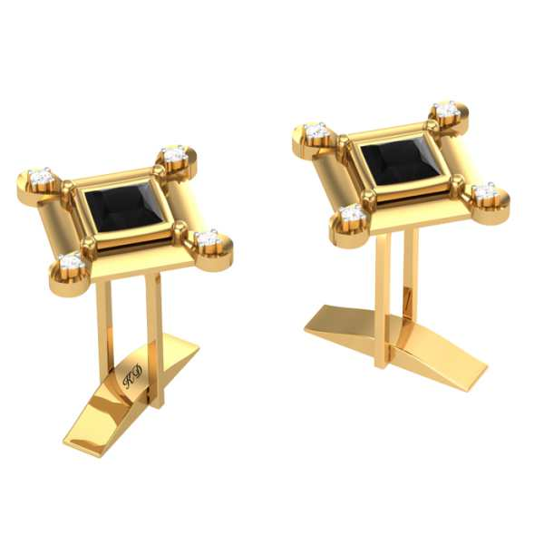 Four Diamond cufflinks