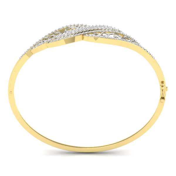 Dazzle Burst Diamond Bangle